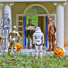 Trick or Treating at Duke's House