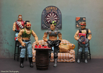 Dreadnoks game room