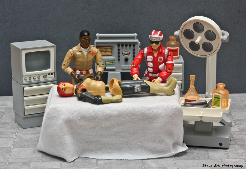 G.I. Joe operating room