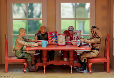 G.I. Joe Breakfast Table