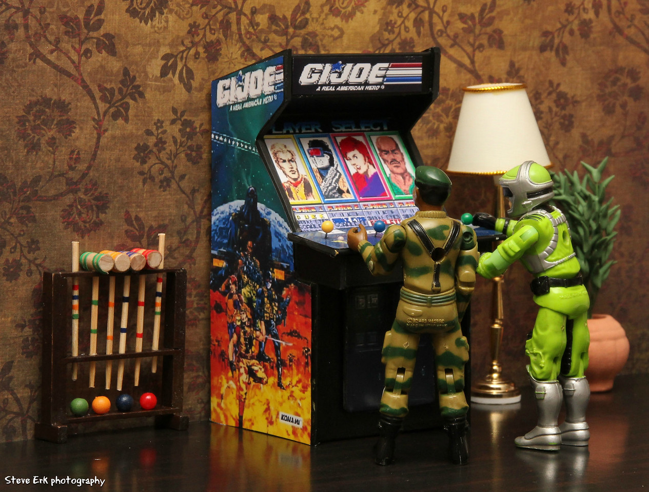 G.I. Joe playing G.I. Joe