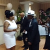 OH, WAIT A MINUTE, WAIT A MINUTE, THE NEWLY WEDS RICKY & WANDA WILLIAMS HAVE ENTERED THE BUILDING AND HIT THE DANCE FLOOR.  THEY DONE CHANGED CLOTHES AND STILL CELEBRATING FROM THE 3 O'CLOCK WEDDING.  GO HEAD CLASS OF '68!!!!