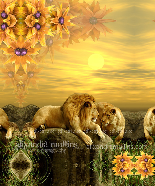 lions_in_love_11x14