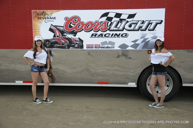 COORS LIGHT RACING, QUEENS FOR THE NIGHT, METZ BEVERAGE COMPNY