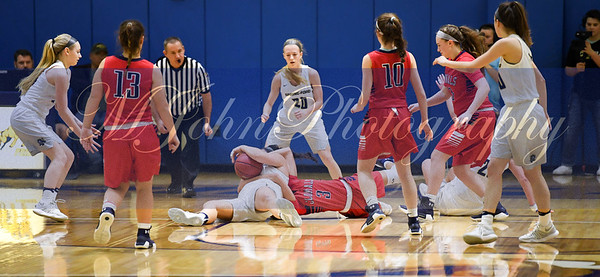 Sf#34  Sarah Cooper  &PW#3 Taylor O'Brien fight for the loose ball