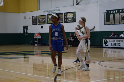Oakland Christian topped Southfield Christian, 48-30, on Friday night. (Photo by Paula Pasche)