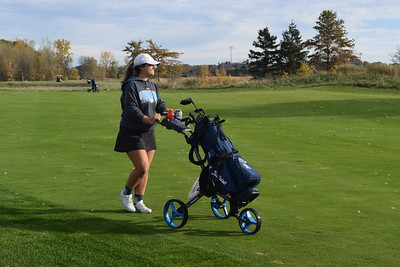 It was a beautiful Saturday at the MHSAA Division 1 Girls Golf State Finals at The Meadows at Grand Valley State. (Photo by Paula Pasche)