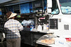 50 cent coffee at the Saturday Flea Market