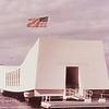 USS Arizona memorial front view