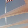Flag on USS Arizona