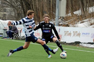 Frigg - Gjøvik FF  (treningskamp)   06/04/2013 --- Foto: Jonny Isaksen