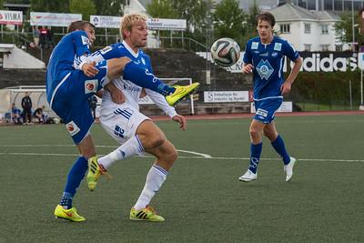FK Gjøvik-Lyn - Herd 23/08/2014   --- Foto: Jonny Isaksen