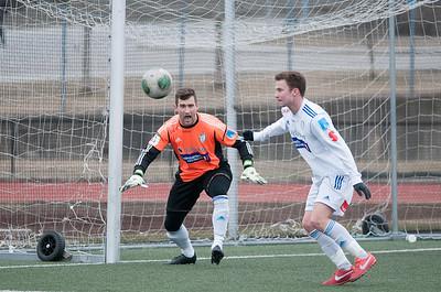 FK Gjøvik-Lyn -Asker  (treningskamp)  05/04/2014   --- Foto: Jonny Isaksen