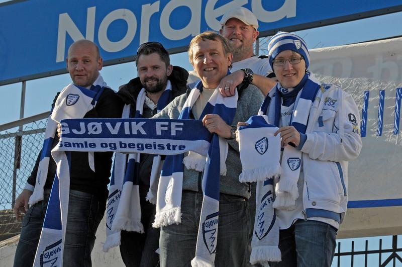 Gjøvik FF - Odd 2    12/10/2013   --- Foto: Jonny Isaksen