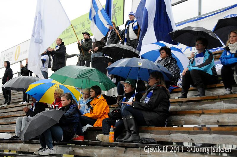 Gjøvik FF - Ottestad  03/09/2011     --- Foto: Jonny Isaksen