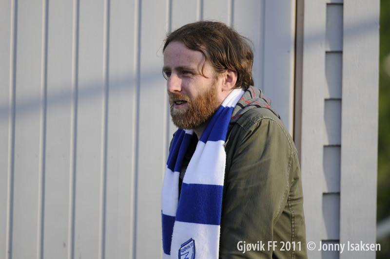 Gjøvik FF - Kongsvinger 2   14/06/2011     --- Foto: Jonny Isaksen