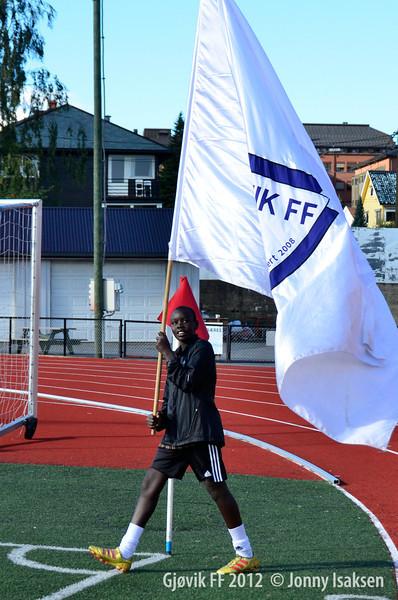 Gjøvik FF - Fram Larvik  <br /> 08/09/2012   <br /> --- <br /> Foto: Jonny Isaksen