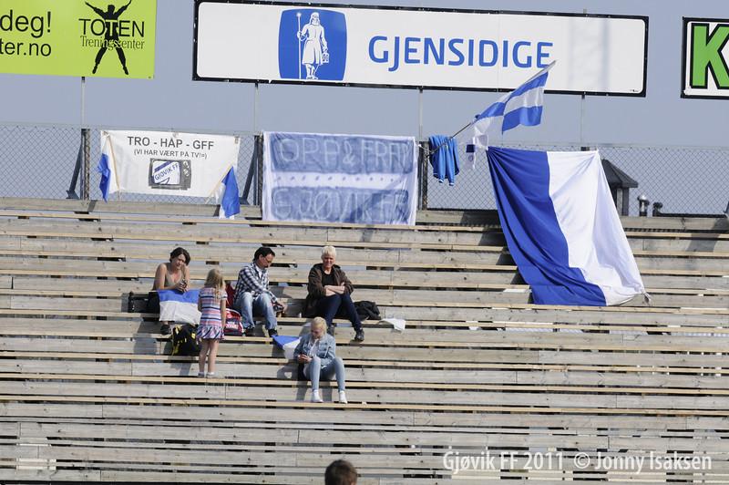 Gjøvik FF - Eidskog 25/04/2011   --- Foto: Jonny Isaksen