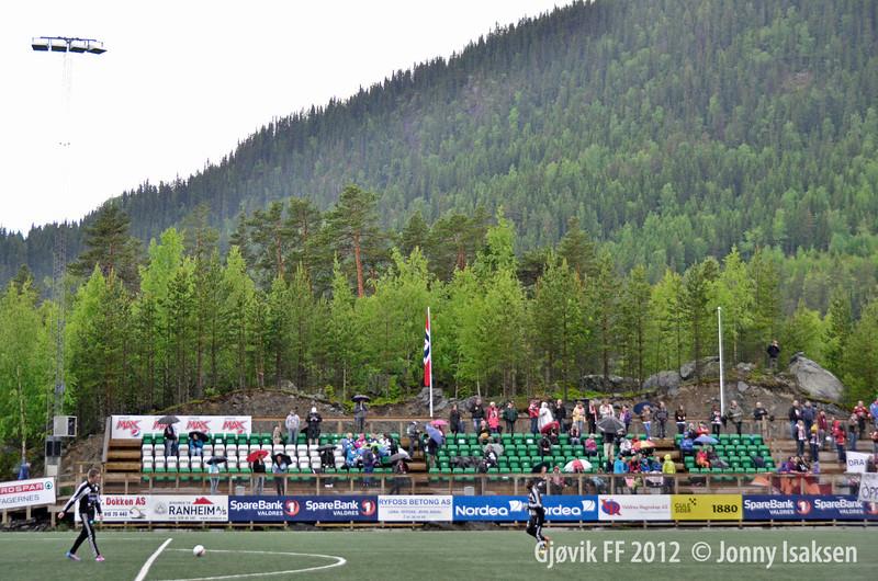 Valdres FK - Gjøvik FF<br /> 24/06/2012<br /> --- <br /> Foto: Jonny Isaksen