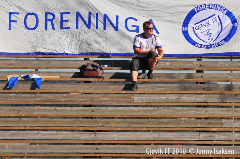 Gjøvik FF - Kolbu KK  04/09/2010     ----- Foto: Jonny Isaksen