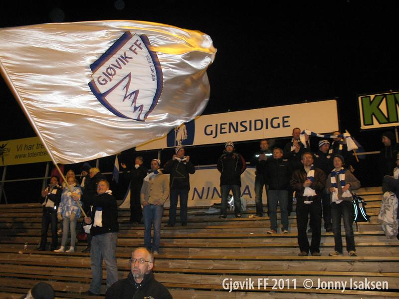 Gjøvik FF - Grüner  13/04/2011     --- Foto: Jonny Isaksen