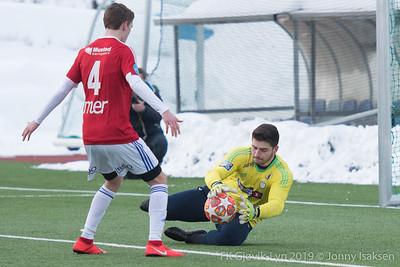 FK Gjøvik-Lyn   -   Brumunddal (treningskamp)      09/03/2019   --- Foto: Jonny Isaksen