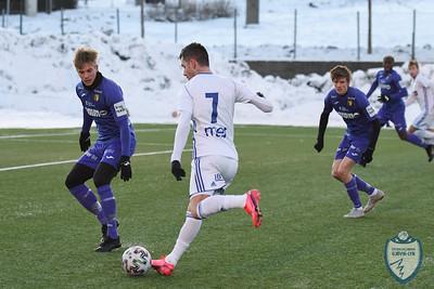 FK Gjøvik-Lyn  -  Raufoss Fotball  (treningskamp)    04/02/2020    --- Foto: Jonny Isaksen