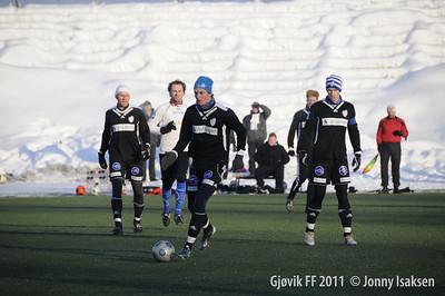 Gjøvik FF - Lillehammer 19/02/2011     --- Foto: Jonny Isaksen