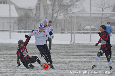 Gjøvik FF - Moelven (treningskamp) 21/01/2012 --- Foto: Jonny Isaksen