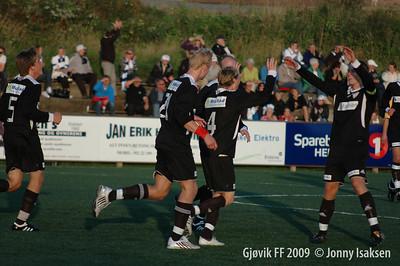 Ringsaker - Gjøvik FF 14/08/2009     Foto: Jonny Isaksen