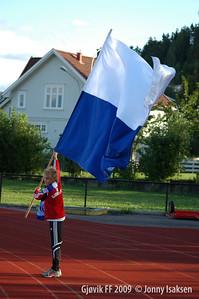Gjøvik FF - Lom 29/08/2009   /   Foto: Jonny Isaksen