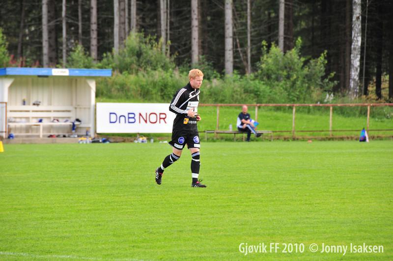 Redalen - Gjøvik FF 03/08/2010     --- Foto: Jonny Isaksen