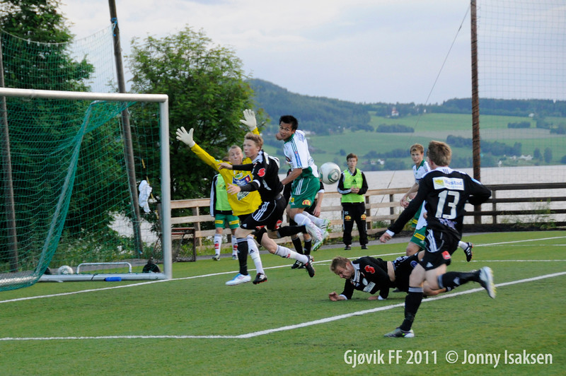 HamKam 2 - Gjøvik FF  20/06/2011     Foto: Jonny Isaksen