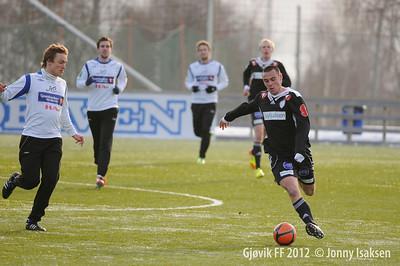 Brummundal - Gjøvik FF  (treningskamp) 03/03/2012    --- Foto: Jonny Isaksen