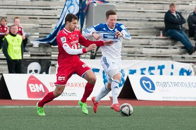 FK Gjøvik Lyn - Sprint Jeløy   26/04/2015   --- Foto: Jonny Isaksen