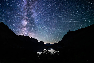 EXPLOSIVE NIGHT SKY