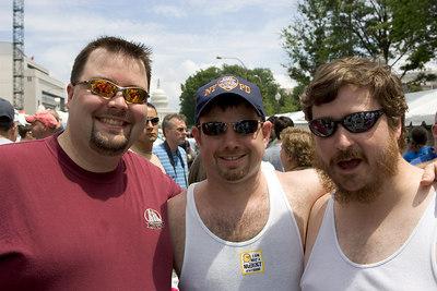 Ham, Jeff, and Bill