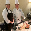 UMass chefs Courtney Levesque and Teresa Marcotte, both of Lowell