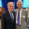 GLCF President and CEO James Linnehan Jr. of Lowell and Enterprise Bank's Chet Szablak of Tyngsboro