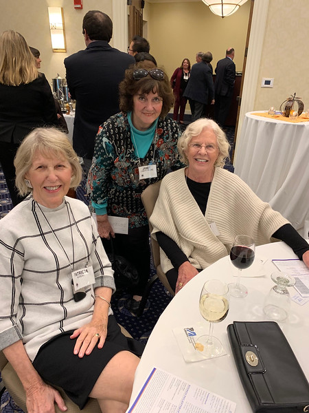 From left, Patricia Noreau, Janet Lambert-Moore and Molly Sheehy, all all of Lowell