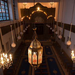 Al Azmeh Synagogue In Marrakech, Morocco