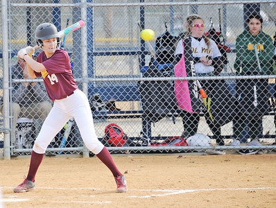GLOUCESTER CATHOLIC VS O.L.M.A. , GIRLS SOFTBALL SCRIMMAGE- 03/20/ 19