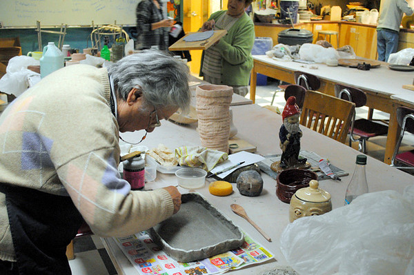 POTTERY WORKSHOP with Lauren Silver of Burr and Burton Academy
