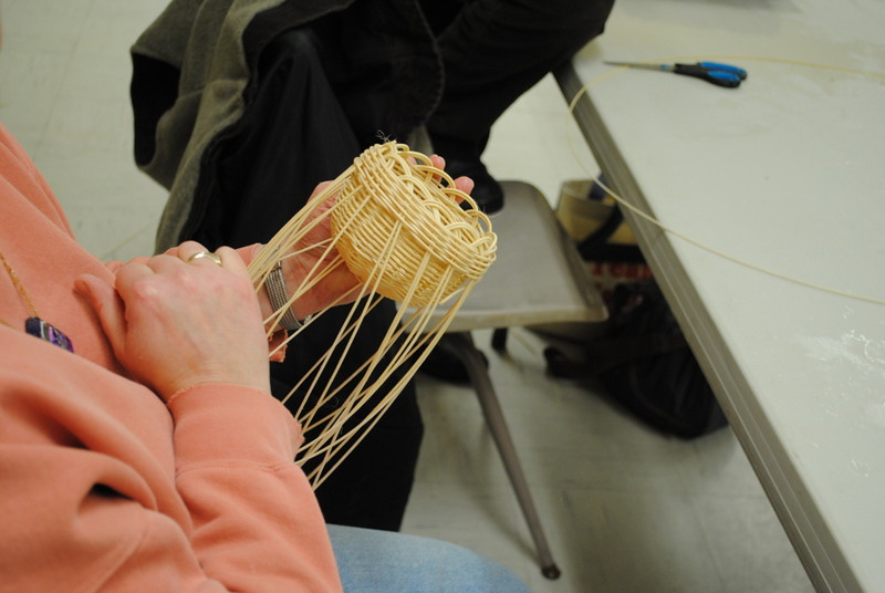 BASKETWEAVING with Trish Weill, local artist