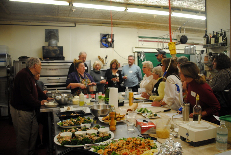 Italian cooking class with Sherrie Baker at Al Ducci's Italian Pantry