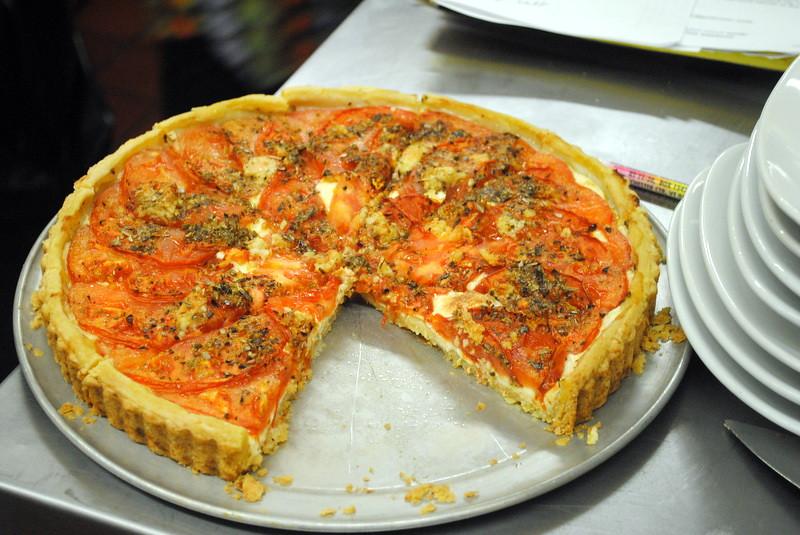 Al Ducci's famous tomato tart