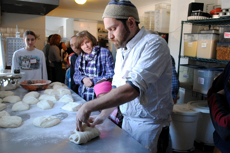 Artisanal breads with Oliver Levis of Earth Sky Time Farm