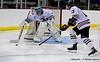 #13 defense #31 Goal deflection
