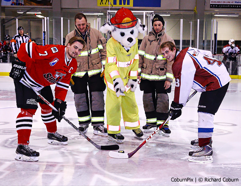 Sparky drops the Puck-Recovered