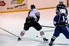 #7 Alfed Panelin-Borg heads through Blues defence